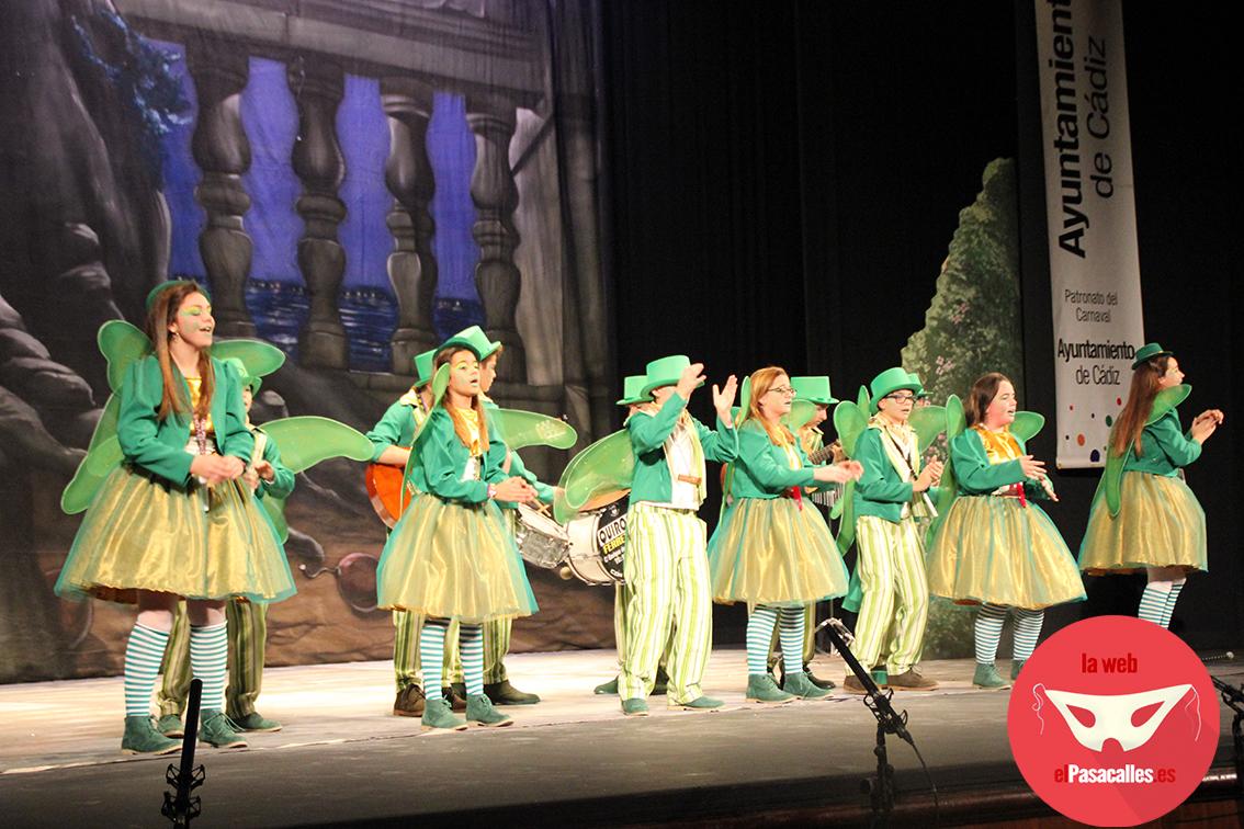 El único grupo infantil que no pasó el corte es invitado a actuar en la Final