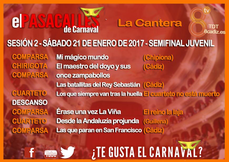 Segunda Semifinal Juveniles COAC2017