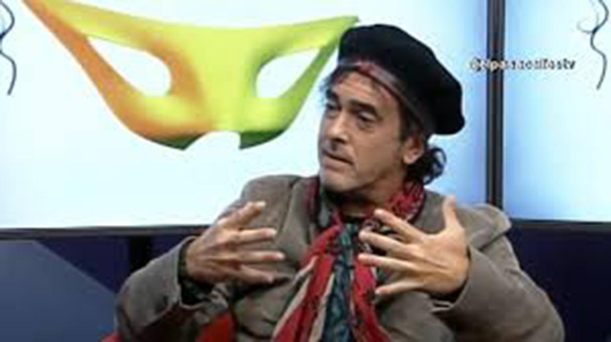 Juan Carlos Aragón, pregonero del Carnaval de Vejer