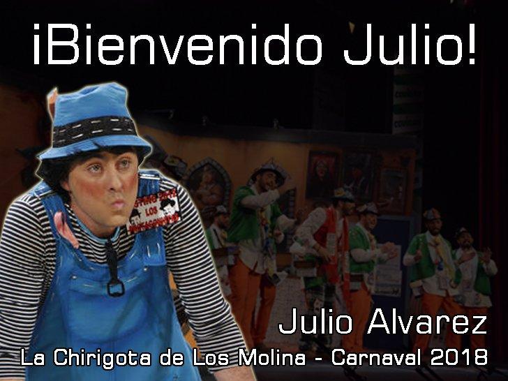 """Julio Álvarez """"ficha"""" por los Molina"""