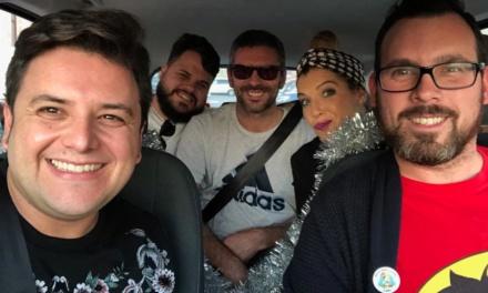 Una nueva entrega del Blam Blam Car con tres comparsistas