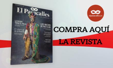 ¿Dónde comprar la revista de El Pasacalles en Cádiz?