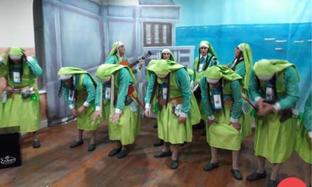 Chirigota 'Las del convento de Santa María la Yerbabuena' #COAC2018P9