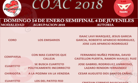 Cuarta Semifinal de Juveniles COAC 2018 #COAC2018JUS4