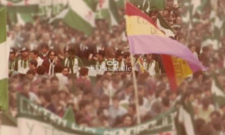 """""""Estuvimos cantando por todas partes y dando la cara en las manifestaciones, pero para 'Nuestra Andalucía' no hay calle"""""""