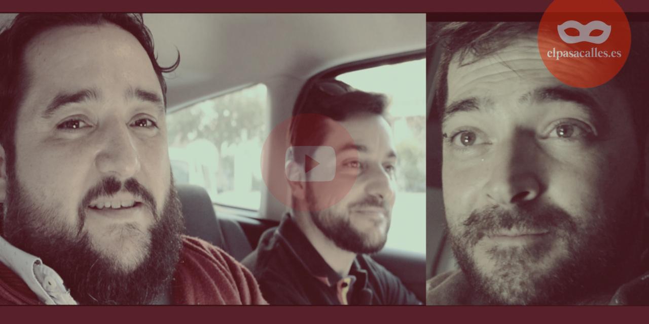 Arturo, Reyes y Cardoso: La comparsa de Barbate en el BLAM BLAM CAR
