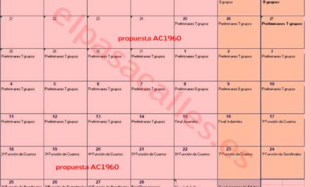 Los comparsistas piden rectificar el calendario y más privilegios para las cabezas de serie