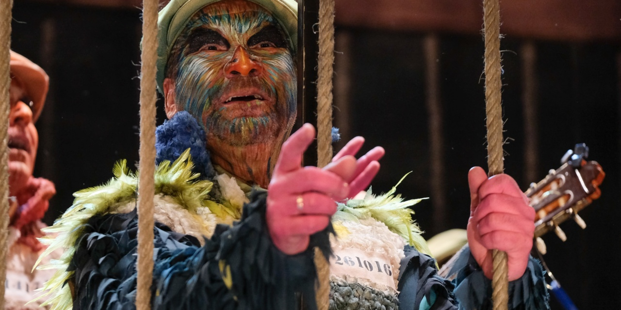 Ángel Subiela confiesa su curioso ritual antes de cantar en el Falla