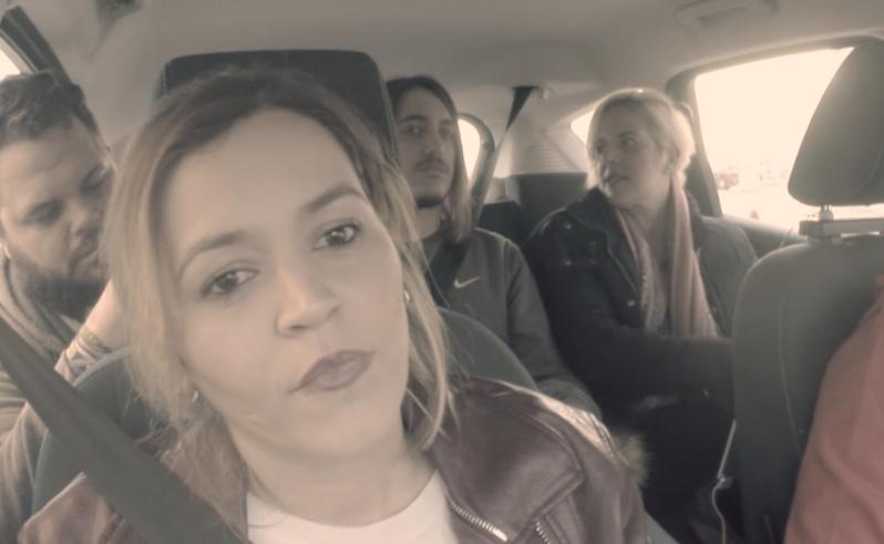 Laura Rivero, Diego Letrán y Patricia Andrés se suben al Blam Blam Car