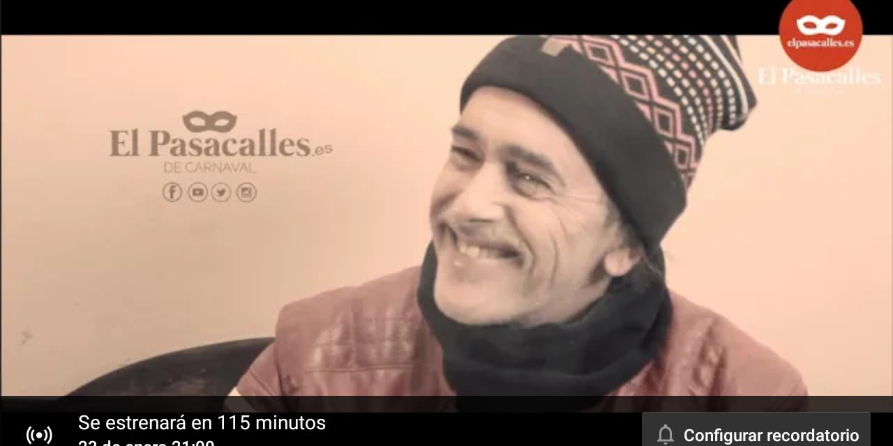 Entrevista a Juan Carlos Aragón en El Pasacalles