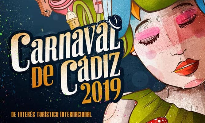 Ya tenemos cartel anunciador del Carnaval de Cádiz 2019
